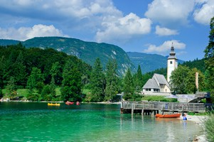 Inghams Lake Bohinj Slovenia